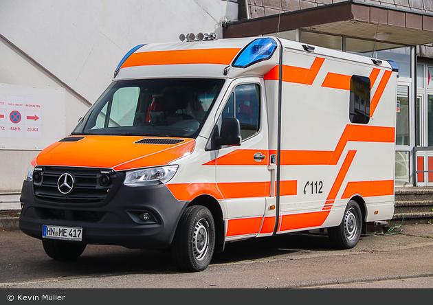 Mercedes-Benz Sprinter 319 CDI - Mittelstädt Einsatzfahrzeuge - RTW