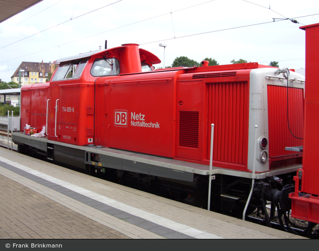 Hildesheim - Deutsche Bahn AG - Rettungszug (Lok 2)