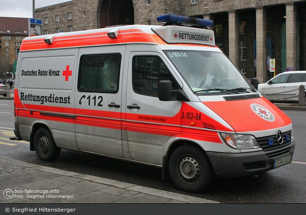 Rotkreuz Stuttgart 01/83-14 (a.D.)