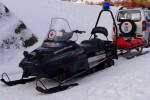 Bergwacht Schneefahrzeug Bischofsgrün
