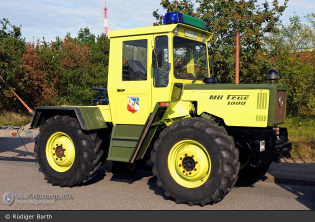 OH-X 389 - MB-Trac 1000 - Traktor