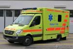 Uster - Spital Uster - RTW - Uster 801