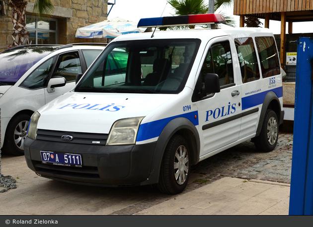 Antalya - Emniyet Genel Müdürlüğü - Deniz Polisi - FuStW - 0794