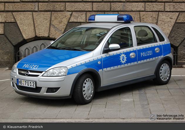 Bremen - Opel Corsa - FuStW (HB-7012)