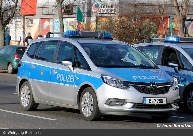 B-7980 - Opel Zafira - FuStW