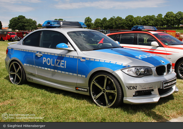 BMW 123d Coupé - VDAT - FuStW
