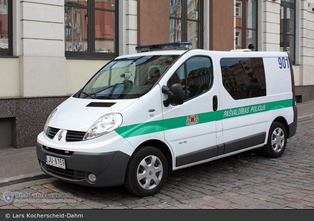 Rīga - Pašvaldības Policija - FuStW - 901