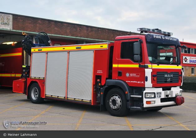 Avonmouth - Avon Fire & Rescue Service - RT
