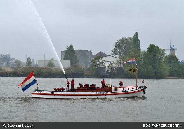 Amsterdam - Brandweer - Jan van der Heyde II ( a.D.)