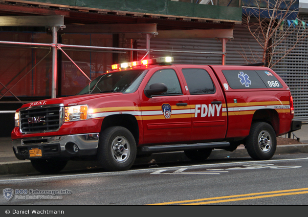 FDNY - EMS - EMS Condition Car xx - KdoW 966