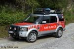Wülfrath - Land Rover Deutschland GmbH - Offroad-Rettungsfahrzeug