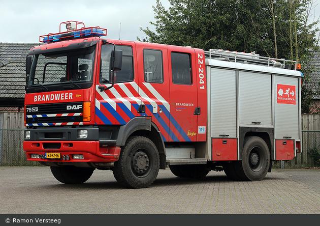 Deurne - Brandweer - HLF - 22-2041 (a.D.)
