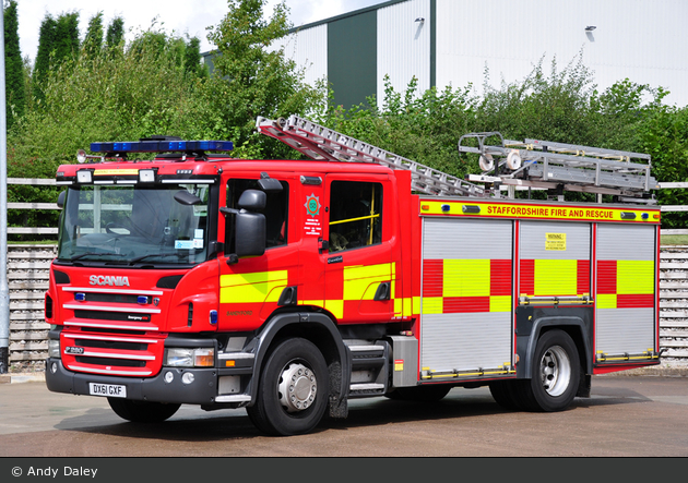 Stoke-on-Trent - Staffordshire Fire and Rescue Service - PrT