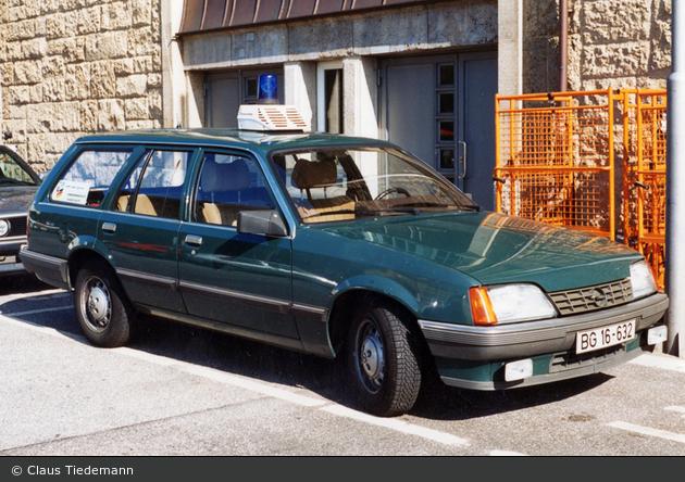 BG16-632 - Rekord E Caravan - FuStW (a.D.)