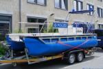 Polizei Gera - Adiutor - Mehrzweckboot