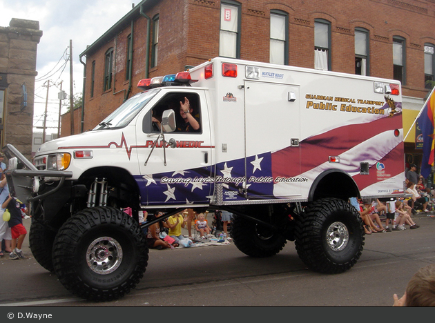 Flagstaff - Guardian Medical Transport - Showfahrzeug
