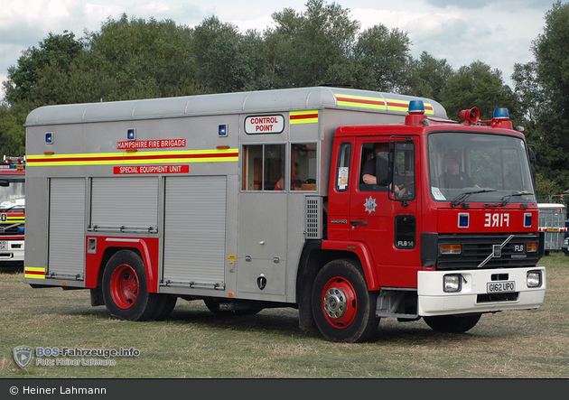 Basingstoke - Hampshire Fire and Rescue Service - SEU (a.D.)