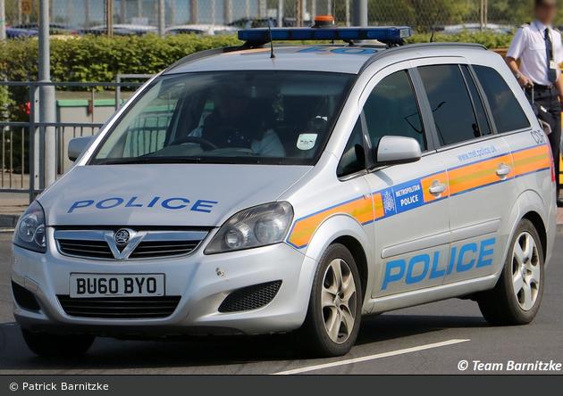 London - Metropolitan Police Service - Aviation Security Operational Command Unit - FuStW - CDF