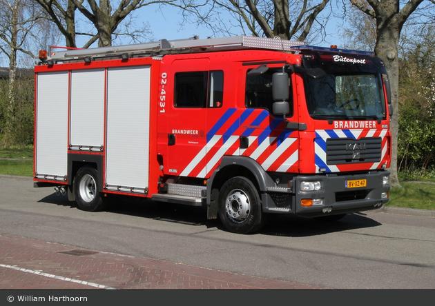 Achtkarspelen - Brandweer - HLF - 02-4530