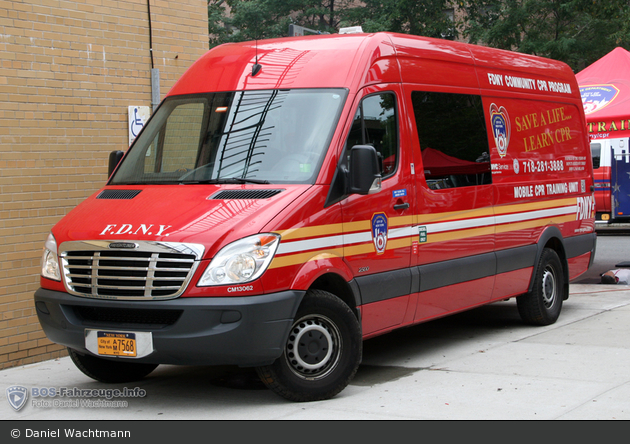 FDNY - EMS - Mobile CPR Training Unit - GW