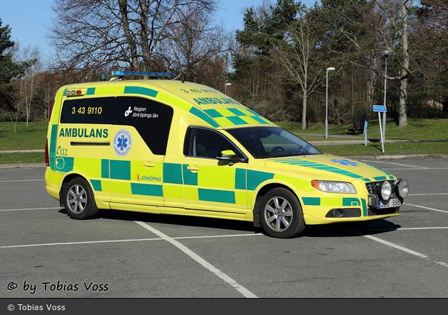 Jönköping - Ambulanssjukvård Jönköpings Län - Ambulans - 3 43-9110