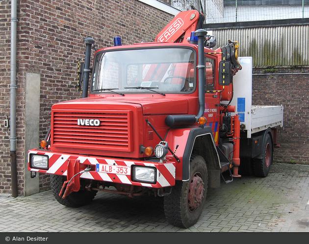 Namur - Service Régional d'Incendie - LKW-Kran - G11