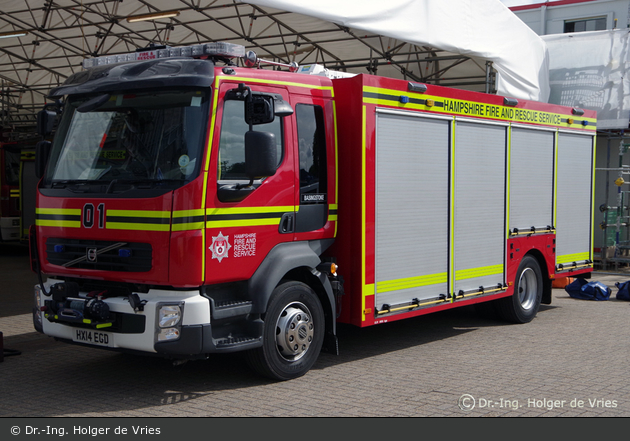 Basingstoke - Hampshire Fire and Rescue Service - RSV