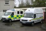 Callander - Ambulance des Scottish Ambulance Service und ELW des Killin MRT