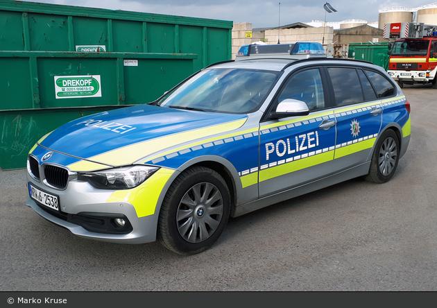 NRW6-2538 - BMW 318d Touring - FuStW