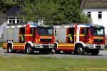NRW - FF Reichshof LZ Mittelagger - TLF 3000 & HLF 10