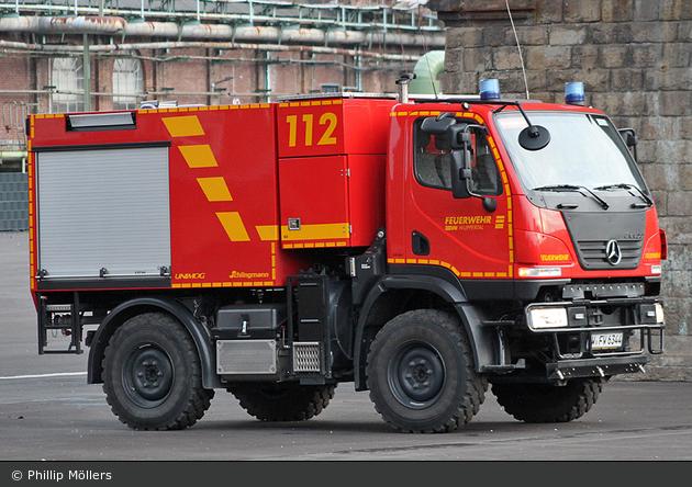 Einsatzfahrzeug Florian Wuppertal 21 Tlf 3000 01 Bos