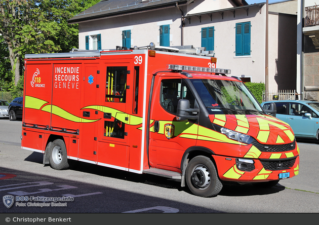 Genève - SIS - KLAF - César 39
