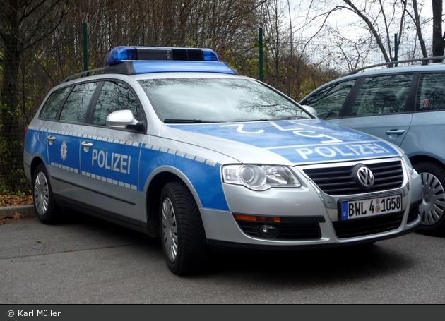 Heilbronn - VW Passat - FuStW (BWL 4-1058)