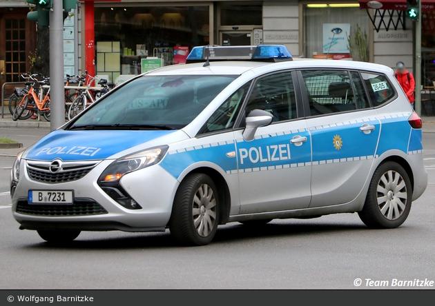 B-7231 - Opel Zafira Tourer - FuStW