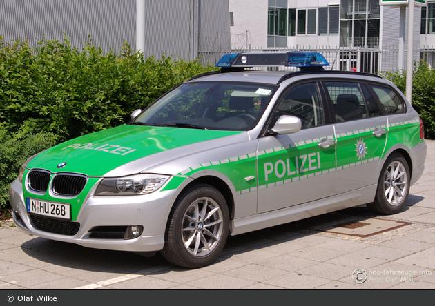 N-HU 268 - BMW 3er Touring - FuStW - Nürnberg