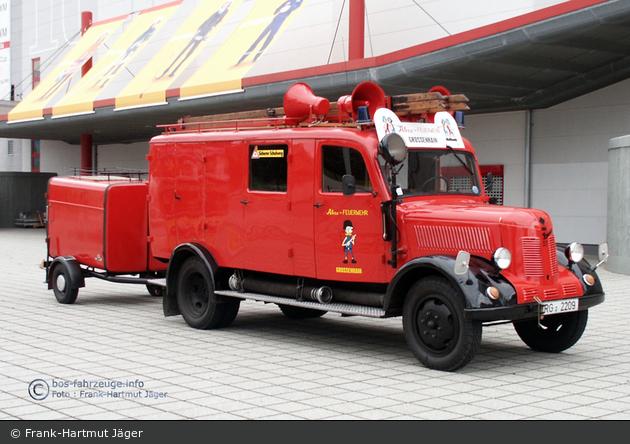 """Großenhain - JF - """"Atze-Feuerwehr"""" (a.D.)"""