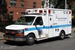 NYC - Manhattan - Lenox Hill Hospital Emergency Medical Service - Ambulance 1807 - RTW
