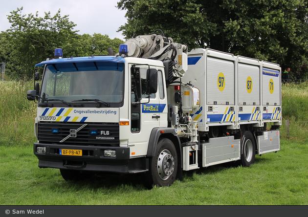 Rotterdam - ProRail Incidentenbestrijding - GW (a.D.)