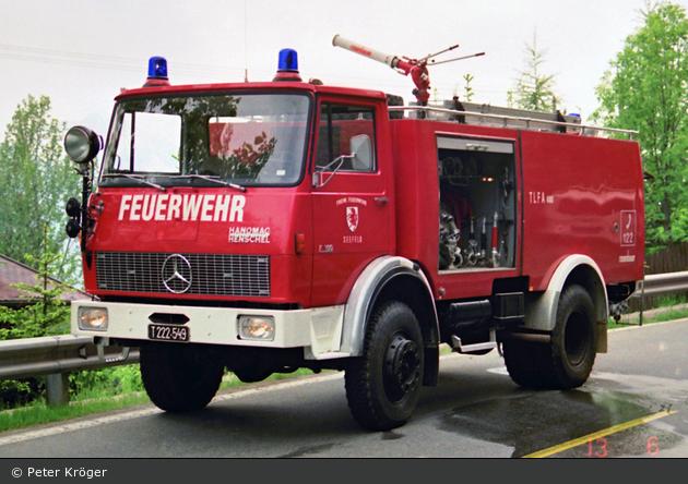 Seefeld in Tirol - FF - TLFA 4000 (a.D.)