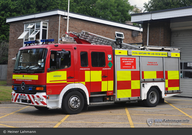 Ascot - Royal Berkshire Fire and Rescue Service - WrL
