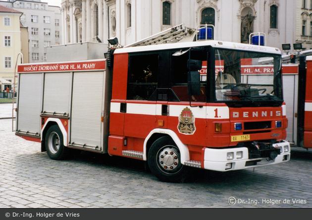 Praha - HZS - FW 01 - HLF (a.D.)