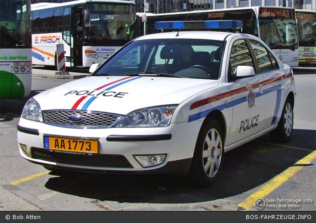 AA 1773 - Police Grand-Ducale - FuStW