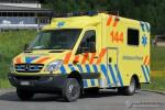 Boudevilliers - Ambulances Roland - RTW - Roland 405