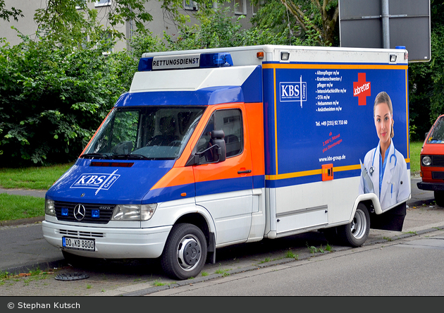 Dortmund - KBS-Group - Werbefahrzeug