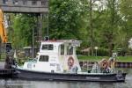 WSA Eberswalde - Schub- und Aufsichtsboot - Bredereiche