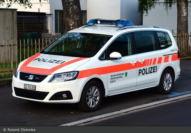 St. Margrethen - KaPo St. Gallen - Patrouillenwagen - 2401