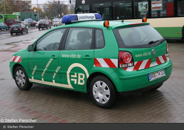 Brandenburg - Brandenburger Verkehrsbetriebe GmbH - Unfallhilfswagen
