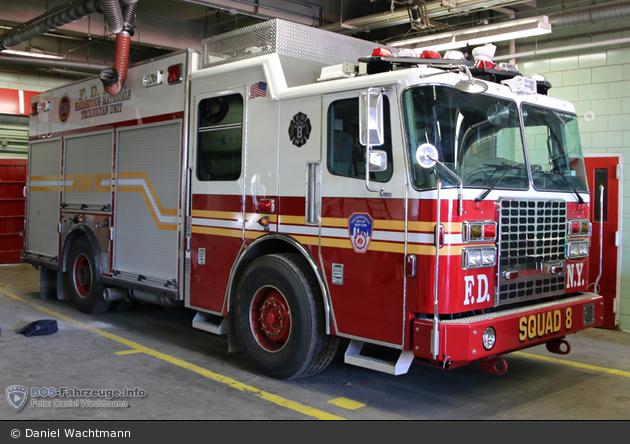 FDNY - Staten Island - HMTU Squad 8 - GW-G