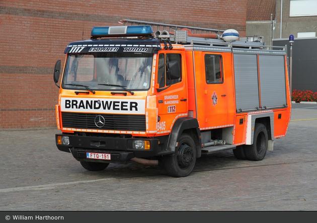 Blankenberge - Brandweer - TLF - B405