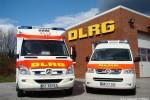 SH - DLRG OV Oberelbe - RTW 1 und GW-Medizin